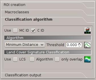 4  SCP dock — Semi-Automatic Classification Plugin 5 3 6 1